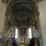 A gilded church