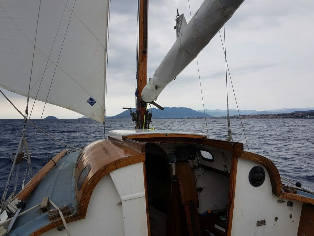 And we sailed. An all too infrequent occurrence