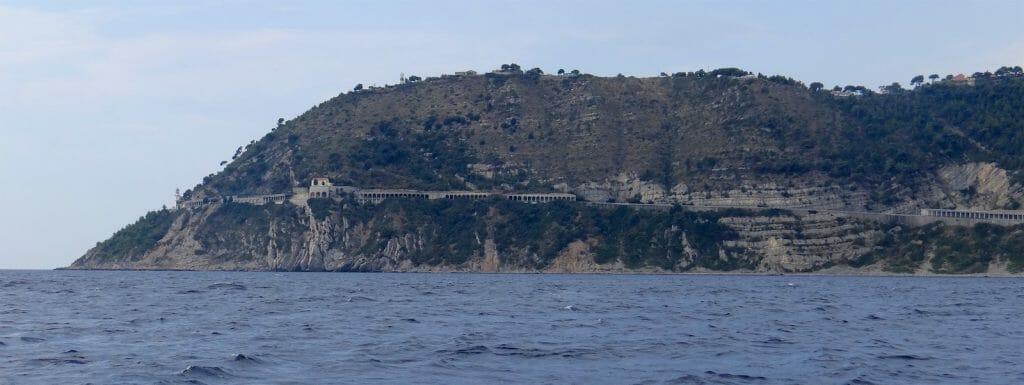 Impressive cliffs and roads.