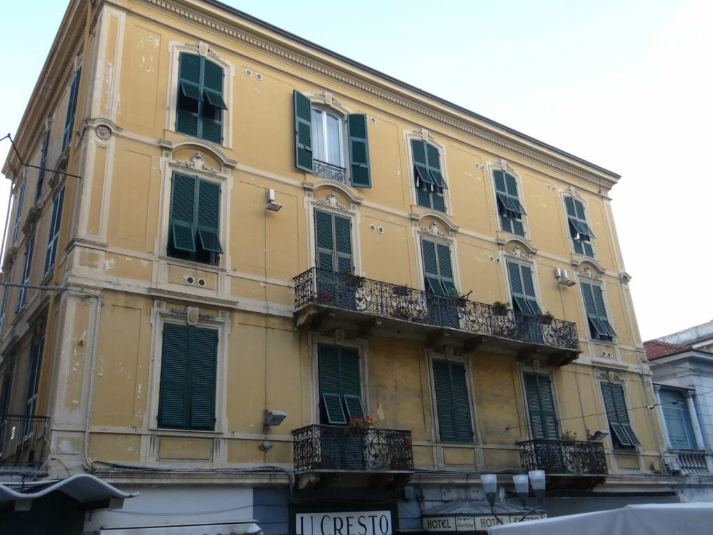 Faded elegance in San Remo