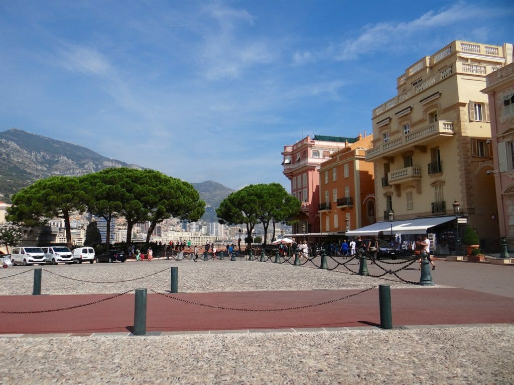 The square in old Monaco