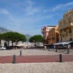 The square in old Monaco