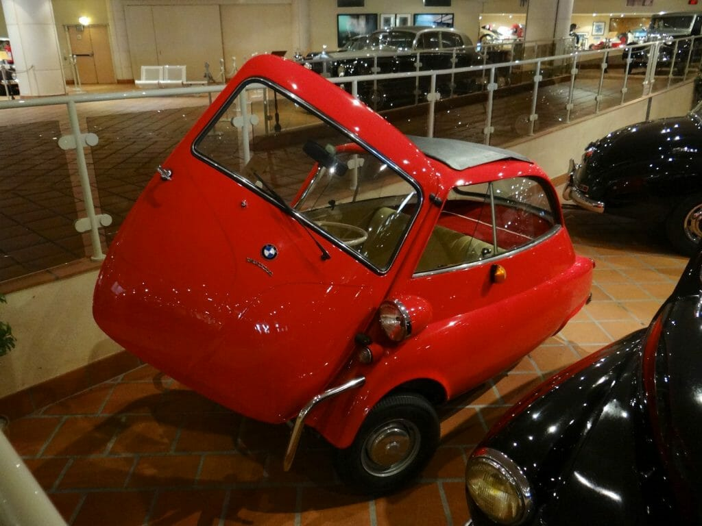 The Isetta. Tremendous fun