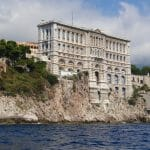 Leaving Monaco afforded this great view of the Oceanographic museum