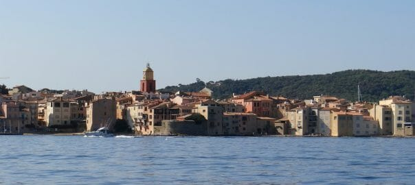 Looking back at St Tropez