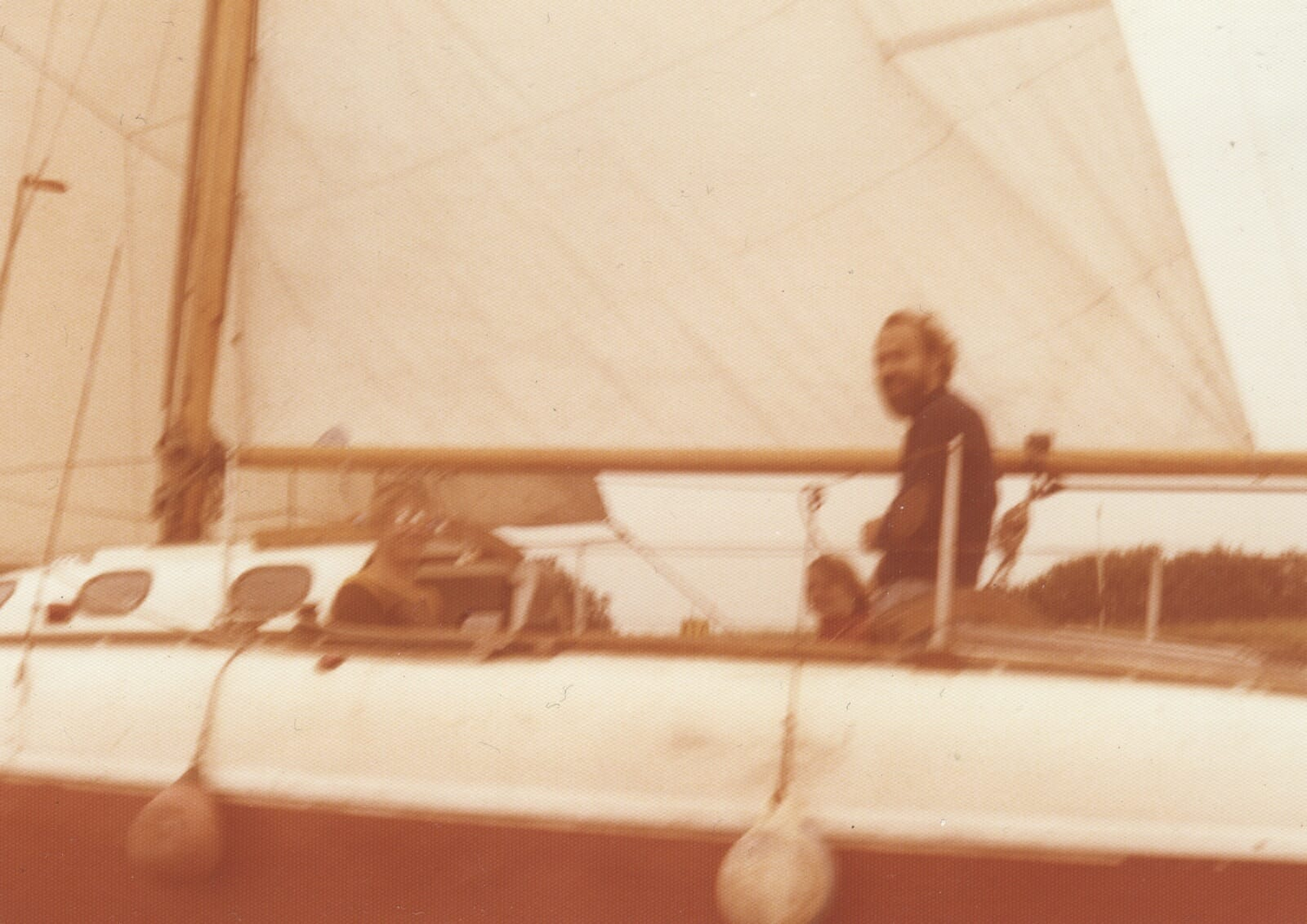 Kerry Piper Family Sailing in the 1970s 1980s