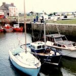 Atalanta A65 in Glasson Dock 1982
