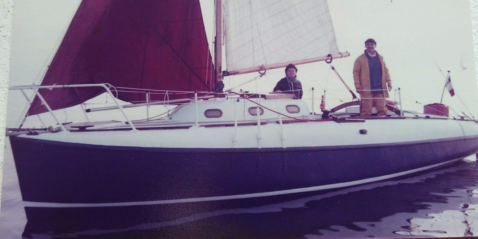 Bernard sailing A35