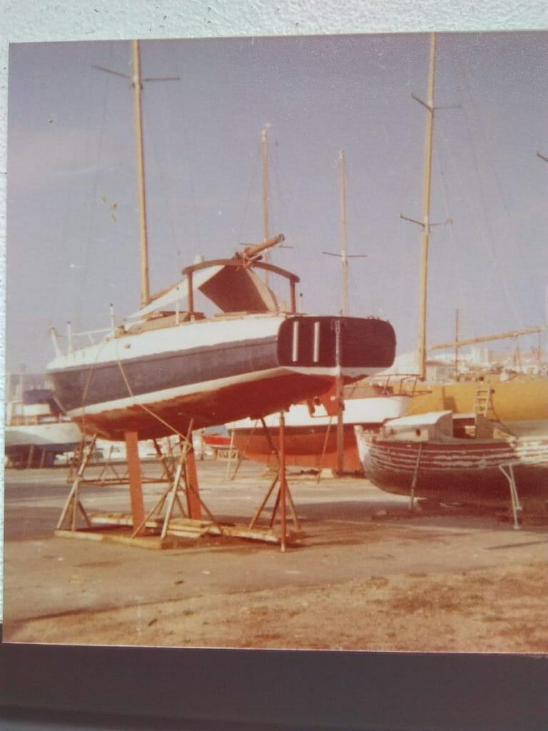 A35 ashore in Agde from Bernard Blavier 02