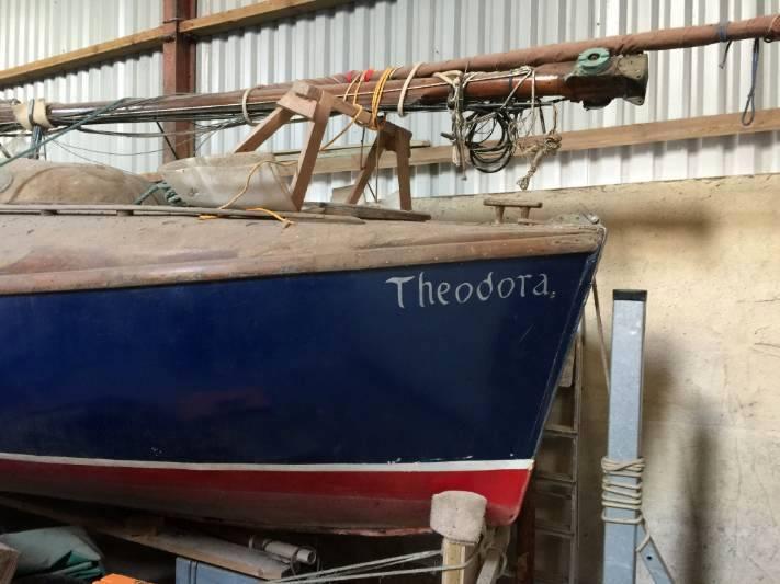 Theodora in 2018 2