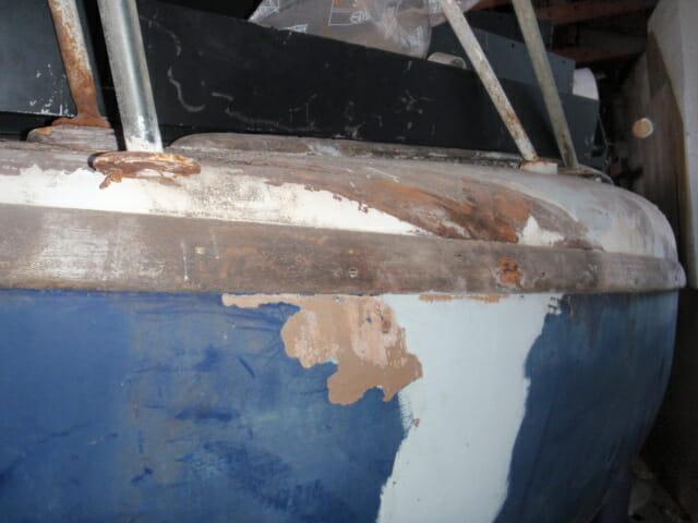 A98 Port baw damage -2 November 2019