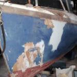 A98 Port bow damage-1 November 2019