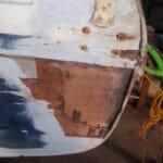 A98 Transom Damage November 2019