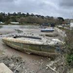 Petesark in distress in Cornwall