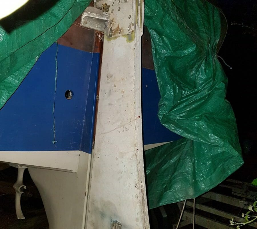 A5 Mark 1 Rudder in 2020