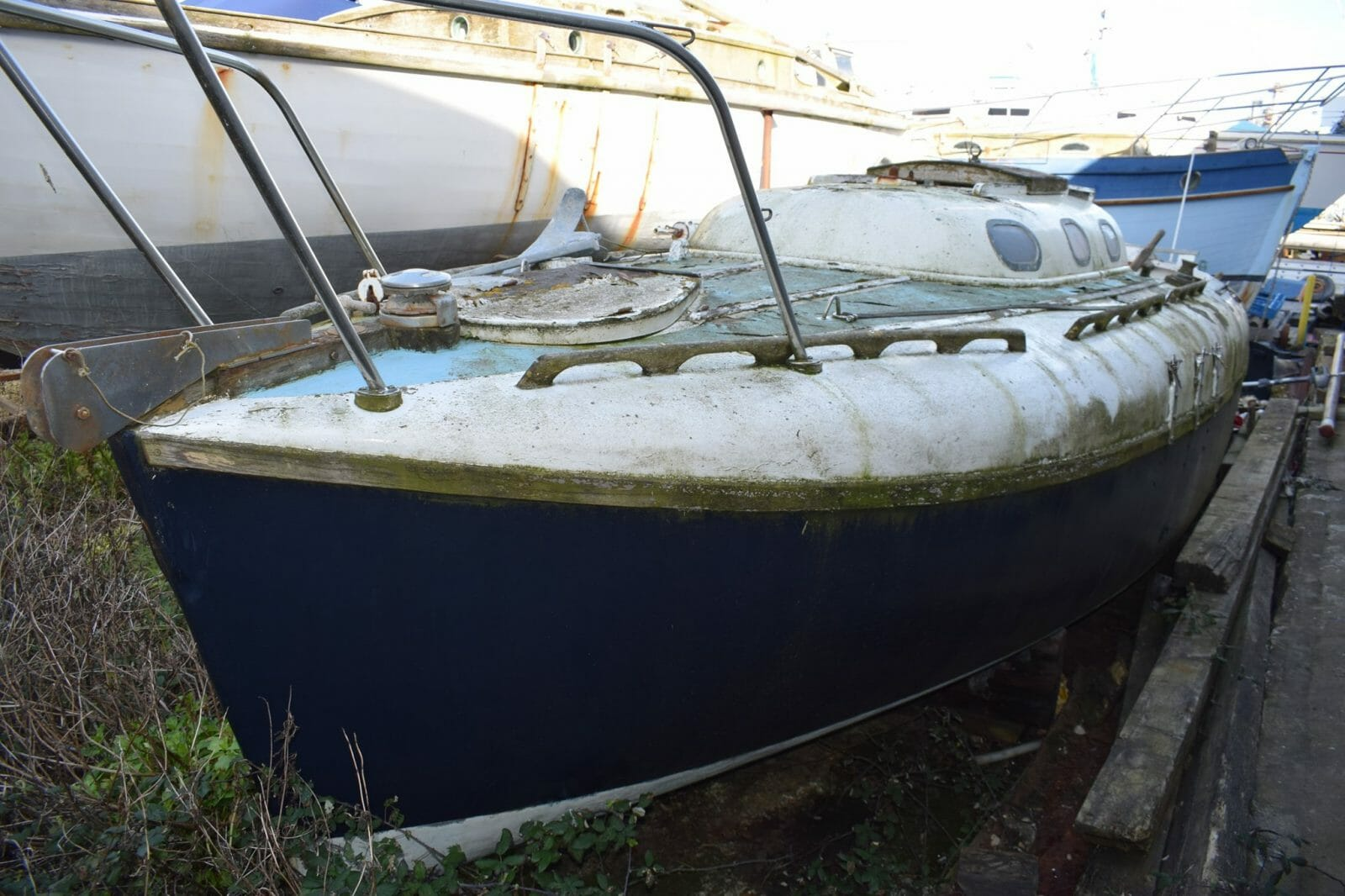 A166 Hullabaloo For Sale - £400 in boatyard on Portland