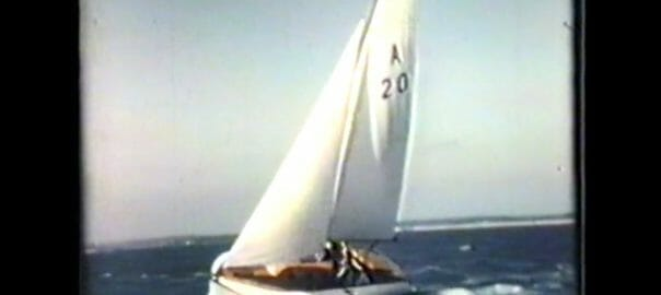 A20 on the wind from Fairey Marine promotional video
