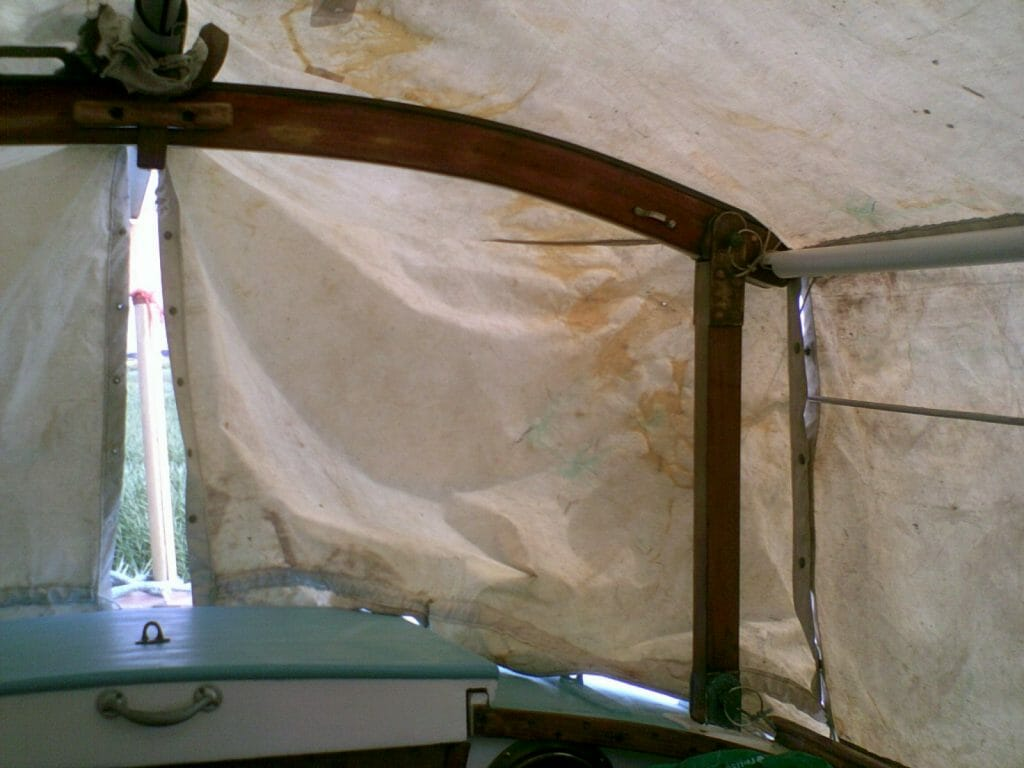 A95 Hiran Cockpit Cover port side aft