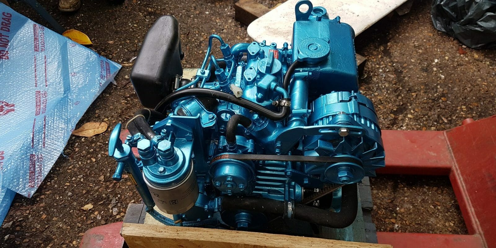 New engine for A5 - Nanni 250HE 14hp