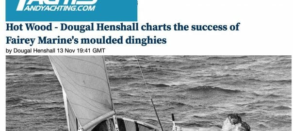 Yachts and Yachting article on Fairey hot moulding