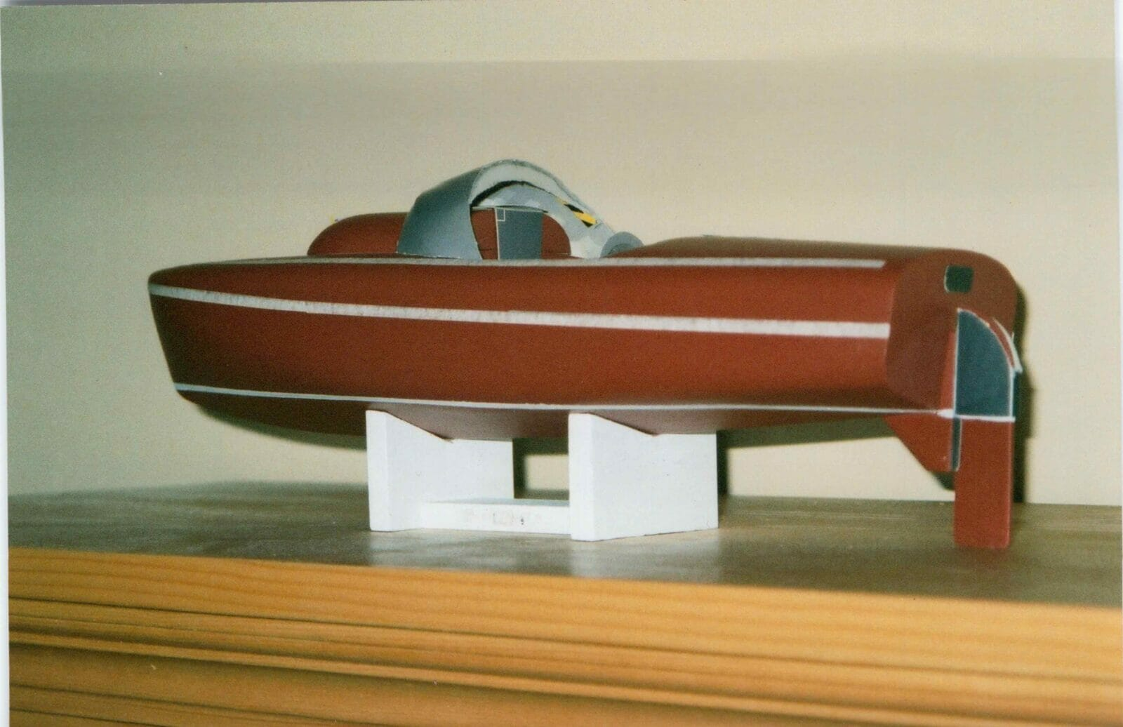 A15 2000ish Modelling the raised aft cabin decks2