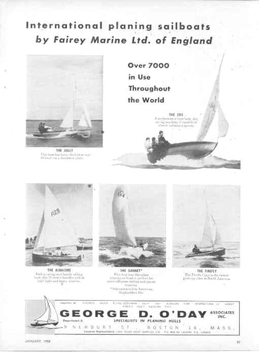1960ish O'Day US Advert 2 of 2