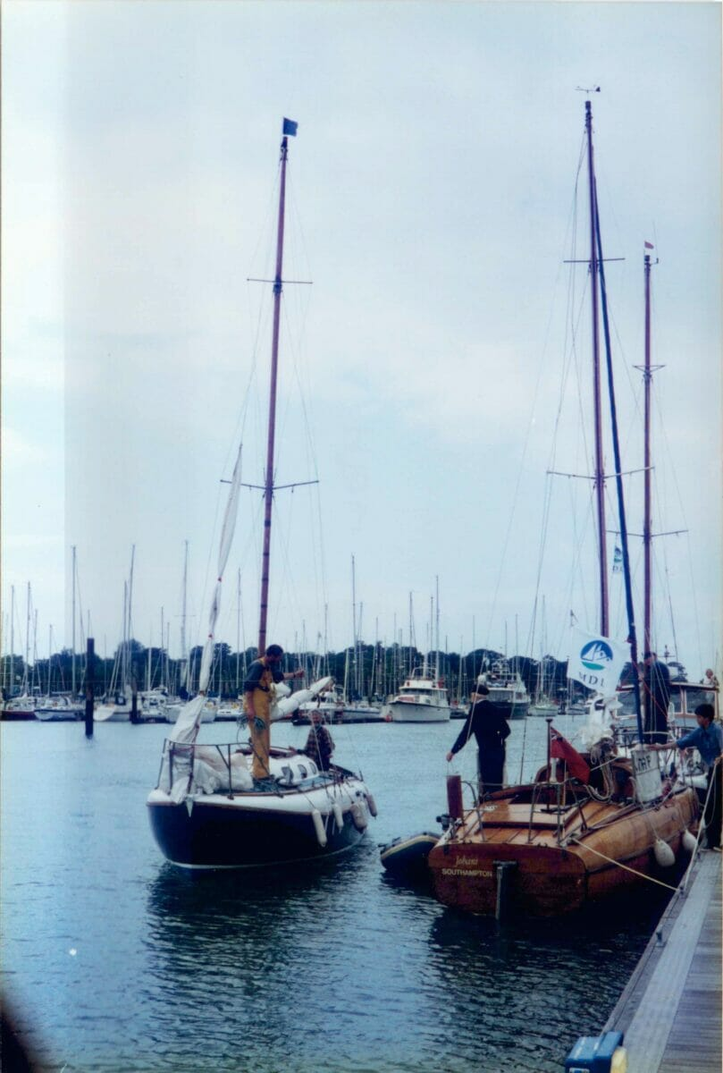1996 MDL Fairey Marine 50th Anniversary Event Hamble  A104 and A148 11