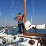 2018 West Mersea Race A124 Hans is Ready