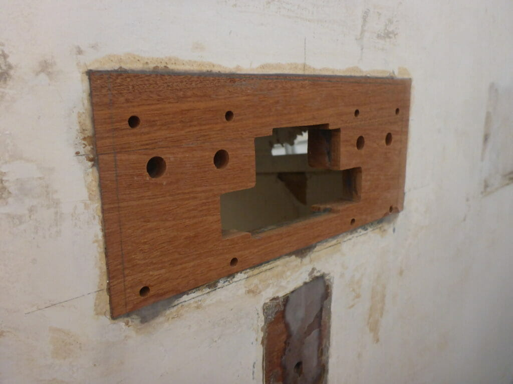 The Upper Rudder Pintle Mounting Area