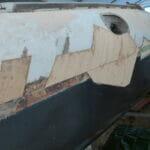 Starboard Side Repairs