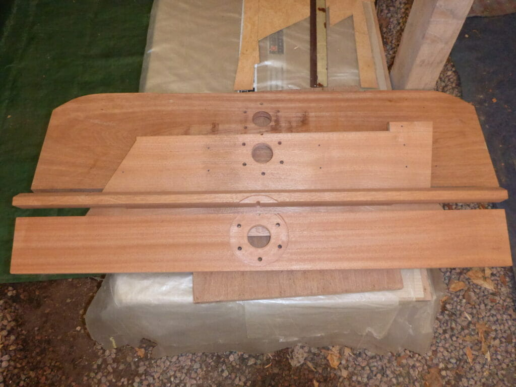 New Wood for the Aft Bulkhead