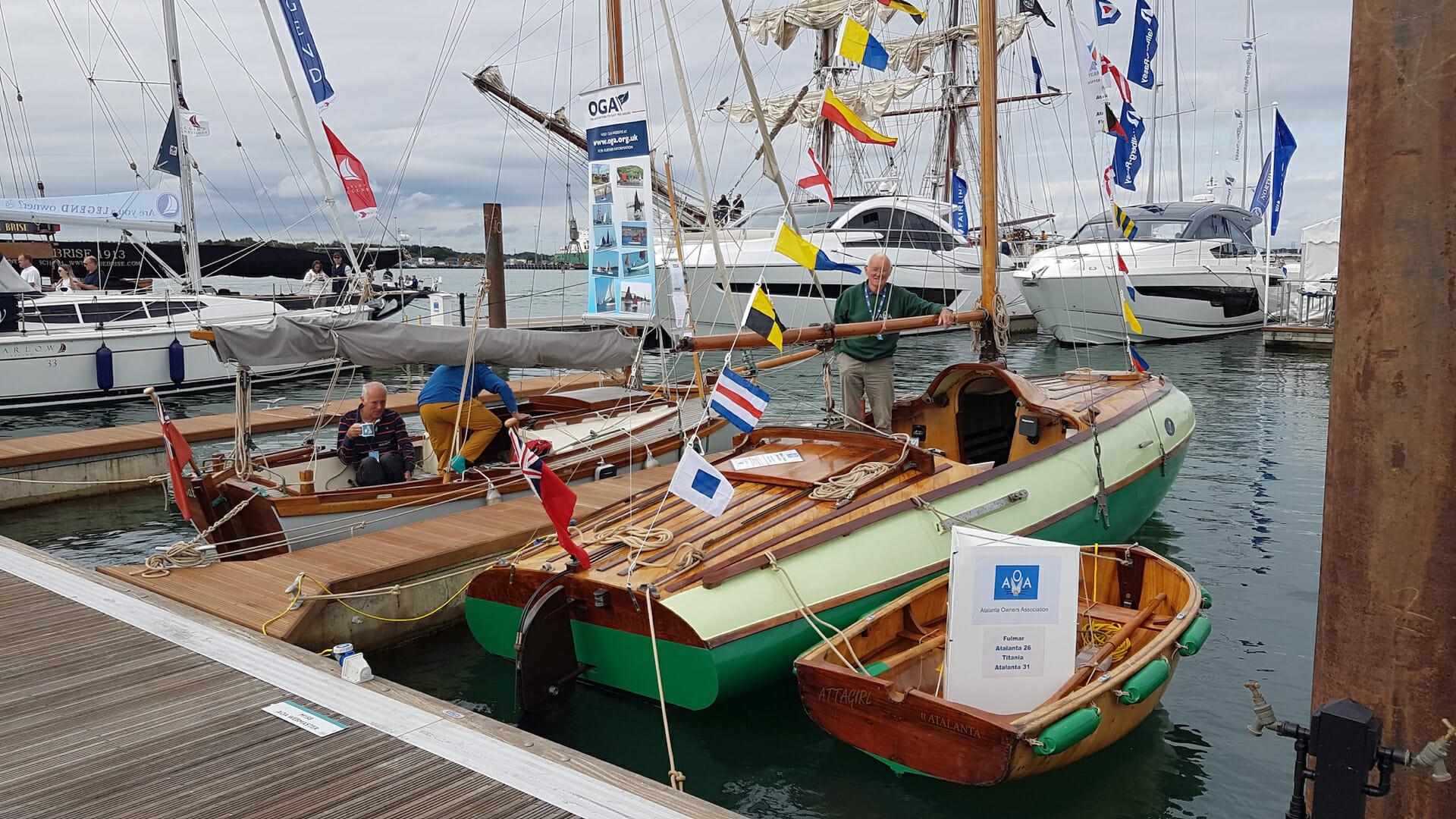 Southampton Boatshow Success