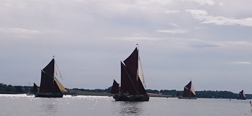 Pin Mill Barge Race