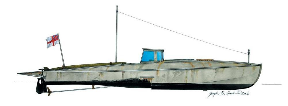 Imperial War Museum Coastal Motor Boat
